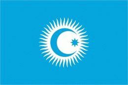 Тюркский флаг