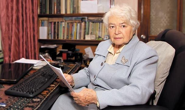 Одна из ярких представительниц имени Рада - известный психолог.
